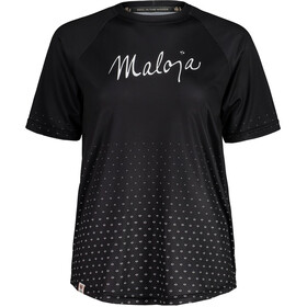 Maloja HaslmausM. Multi 1/2 Kurzarm Multisport Trikot Damen schwarz